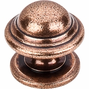 "Top Knobs - Britannia Collection - Empress Knob 1 3/8"" - Old English Copper - M11"