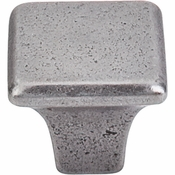 "Top Knobs - Britannia Collection - Square Knob 1 1/4"" - Cast Iron - M1809"