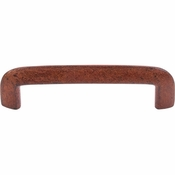 "Top Knobs - Britannia Collection - Wedge Pull 3 13/16"" (c-c) - True Rust - M1805"