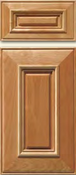 Soft Maple Mitered Cabinet Drawer<br>Raised Panel<br>Series DP-591 Unfinished