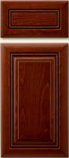 Soft Maple Mitered Cabinet Drawer<br>Raised Panel<br>Series DP-594 Unfinished
