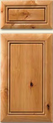Soft Maple Mitered Cabinet Drawer<br>Raised Panel<br>Series DP-69 Unfinished