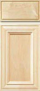 Hard Maple Mitered Cabinet Door<br>Recessed Panel<br>Series DP-541 Unfinished