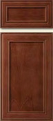 Soft Maple Mitered Cabinet Drawer<br>Recessed Panel<br>Series DP-595 Unfinished