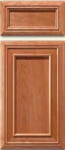 Soft Maple Mitered Cabinet Door<br>Recessed Panel<br>Series DP-88 Unfinished