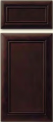 Soft Maple Mitered Cabinet Drawer<br>Recessed Panel<br>Series DS-67 Unfinished