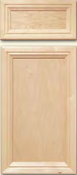 Soft Maple Mitered Cabinet Drawer<br>Recessed Panel<br>Series DS-82 Unfinished