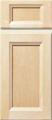 Soft Maple Stile & Rail Cabinet Drawer<br>Recessed Panel<br>Series DP-533 Unfinished