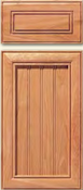 Soft Maple Stile & Rail Cabinet Drawer<br>Recessed Panel<br>Series DP-838 Unfinished
