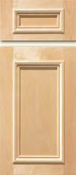 Soft Maple Stile & Rail Cabinet Drawer<br>Recessed Panel<br>Series DS-580 Unfinished