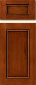 Soft Maple Stile & Rail Cabinet Drawer<br>Recessed Panel<br>Series DS-858 Unfinished