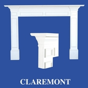 Claremont Mantel - Stain Grade - Red Oak - 36