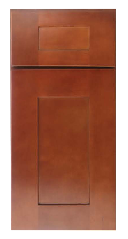 CNC Cabinetry Elegant Nutmeg Kitchen Cabinet - W3012 - Wall Cabinets