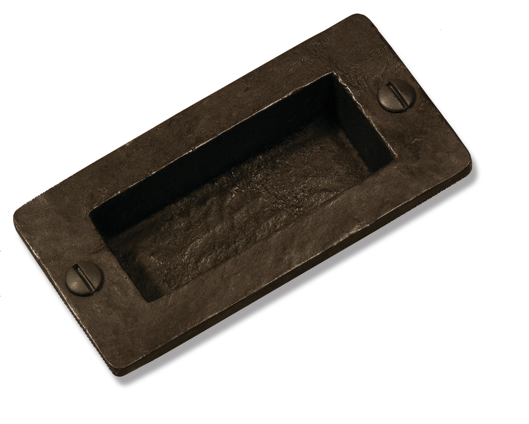 Coastal bronzesolid bronze pocket door flush pull square for Solid flush door