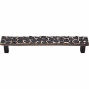 "Top Knobs - Cobblestone Collection - Cobblestone Pull 6 5/16"" (c-c) - Brass Antique - TK306BA"