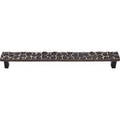 "Top Knobs - Cobblestone Collection - Cobblestone Pull 8 13/16"" (c-c) - Brass Antique - TK308BA"