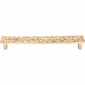 "Top Knobs - Cobblestone Collection - Cobblestone Pull 7 9/16"" (c-c) - Brass - TK307BR"