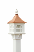 Capital Outdoor Accents - Copper Cupola Lantern
