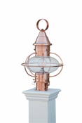 Capital Outdoor Accents - Copper Onion Lantern