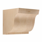 01607001HM1 Simplicity Wood Corbel Hard Maple