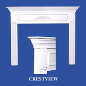 Crestview Mantel - Stain Grade - Red Oak - 36