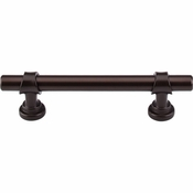 "Top Knobs - Dakota Collection - Bit Pull 3 3/4"" (c-c) - Oil Rubbed Bronze - M1197"