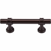 "Top Knobs - Dakota Collection - Bit Pull 3"" (c-c) - Oil Rubbed Bronze - M1752"