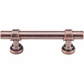 "Top Knobs - Dakota Collection - Bit Pull 3"" (c-c) - Antique Copper - M1746"