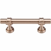 "Top Knobs - Dakota Collection - Bit Pull 3"" (c-c) - Brushed Bronze - M1750"