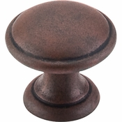 "Top Knobs - Dakota Collection - Rounded Knob 1 1/4"" - Patina Rouge - M1225"