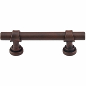 "Top Knobs - Dakota Collection - Bit Pull 3"" (c-c) - Patina Rouge - M1751"