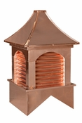 Dalton Style - Louvered Cupola - Estate Copper Series
