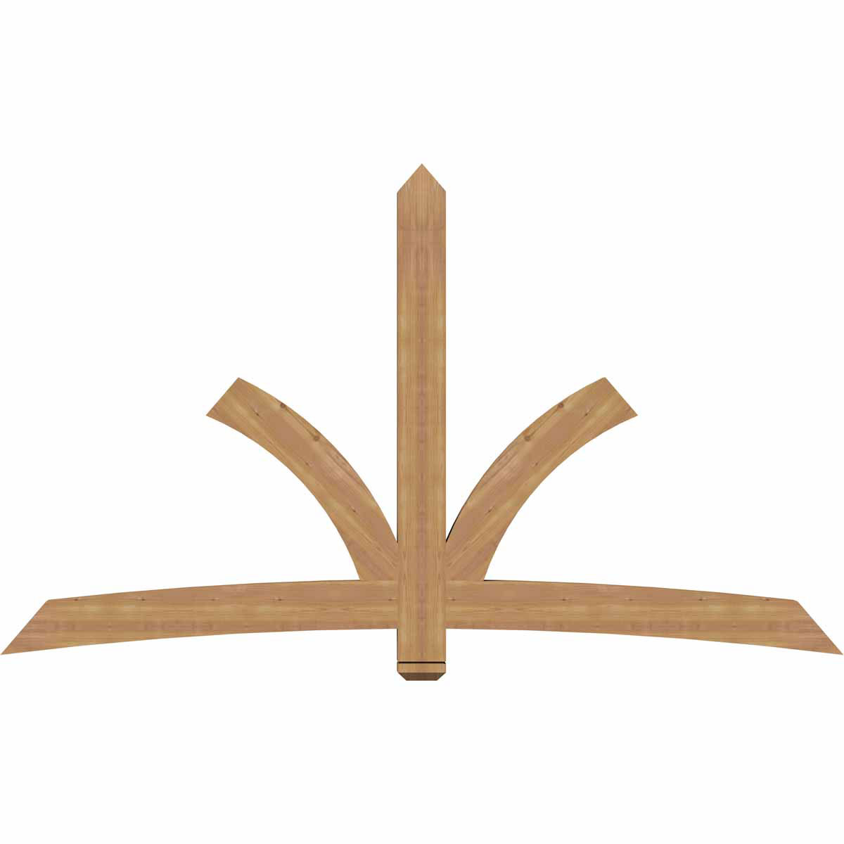 Davenport smooth timber gable bracketwestern red cedar for Cedar gable brackets