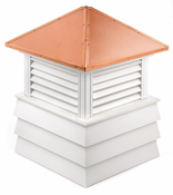 Good Directions - Dover Style - Louvered Cupola - 2126DV
