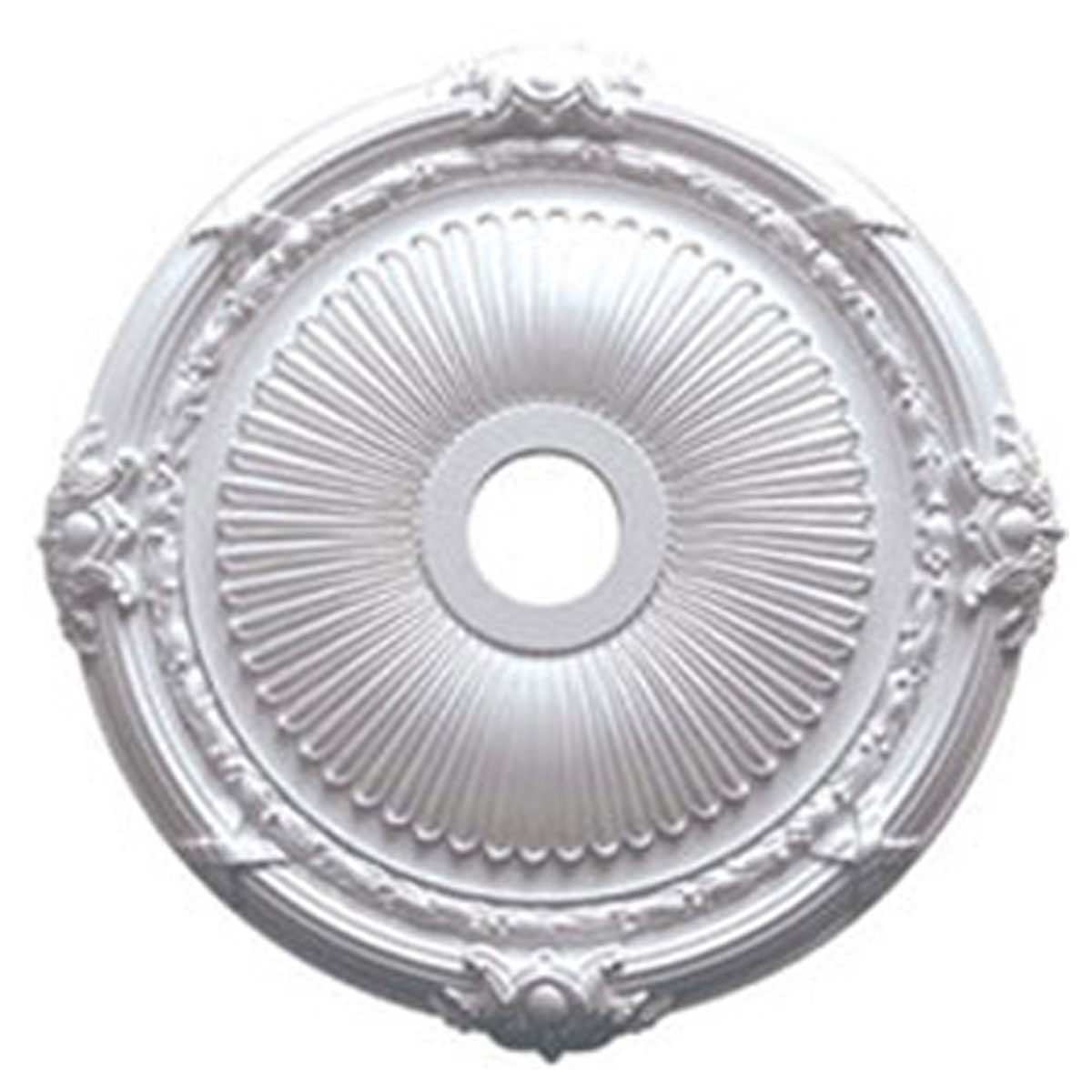 how to cut a ceiling medallion