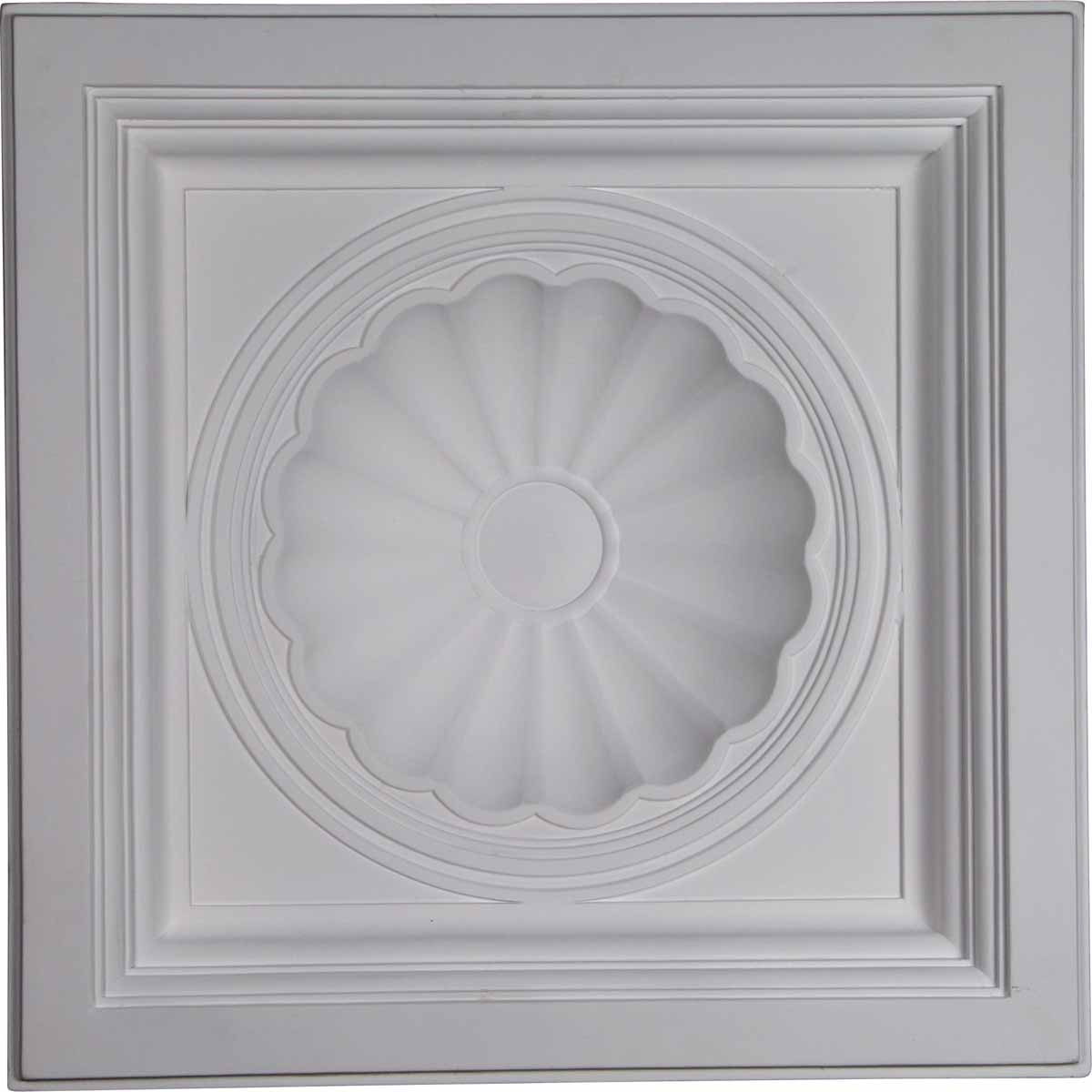 Ekena millwork ceiling tile primed polyurethane ct24x24sh ekena millwork ceiling tile primed polyurethane ct24x24sh dailygadgetfo Image collections