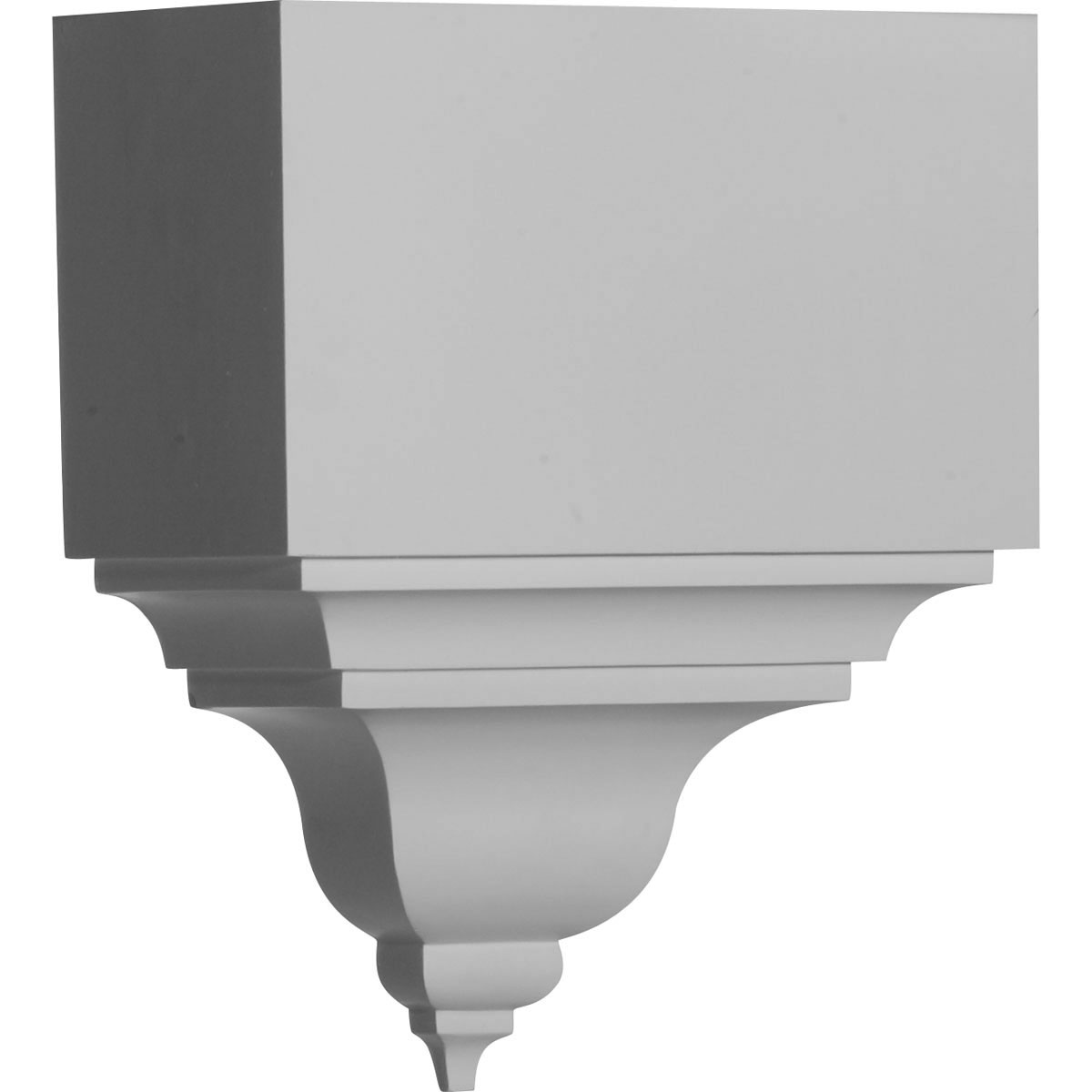 Ekena Millwork Crown Moulding Coupling Primed