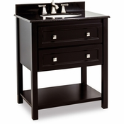 Elements - Bath Vanity - Black - VAN036-T