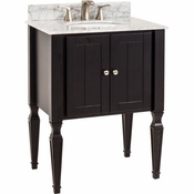 Elements - Bath Vanity - Black - VAN049-T-MW