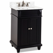 Elements - Bath Vanity - Black - VAN057-T-MW