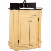 Elements - Bath Vanity - Buttercream - VAN014-T