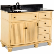Elements - Bath Vanity - Buttercream - VAN028-48-T