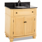 Elements - Bath Vanity - Buttercream - VAN028-T
