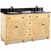 Elements - Bath Vanity - Buttercream - VAN028D-60-T