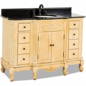 Elements - Bath Vanity - Buttercream - VAN061-48-T