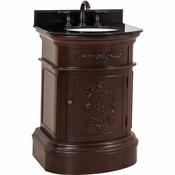 Elements - Bath Vanity - Merlot - VAN031-T