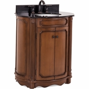 Elements - Bath Vanity - Walnut - VAN025-T