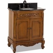 Elements - Bath Vanity - Warm Carmel - VAN060-T
