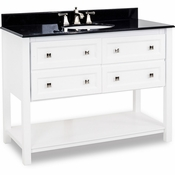 Elements - Bath Vanity - White - VAN066-48-T