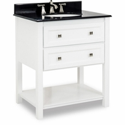 Elements - Bath Vanity - White - VAN066-T